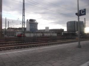 Это Мюнхен. Правда, похоже на Ждановичи? А здания - типа Дарида.
