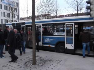 Бесплатный автобус от вокзала Гизинг