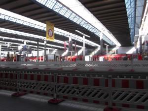 Так выглядит вокзал Мюнхена изнутри