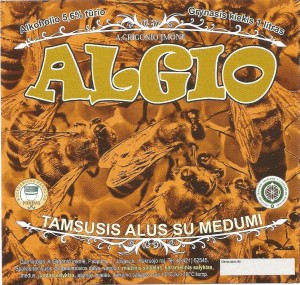 Algio Tamsusis su Medumi