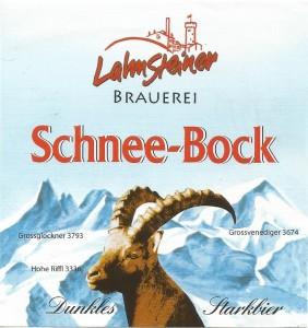 Lahnsteiner Schnee-bock