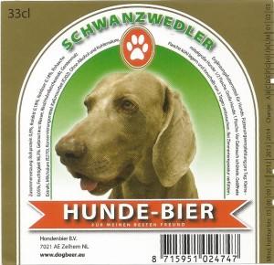Schwanzwedler Hunde-bier